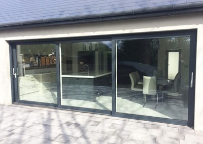 Anthracite Grey Lift & Slide Door