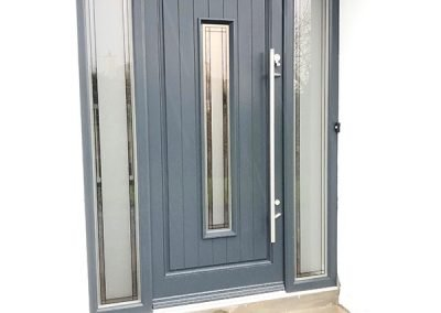 Anthracite Grey Timber Door Seville