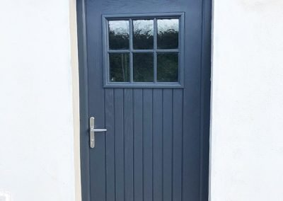 Blue Dublin Composite Door
