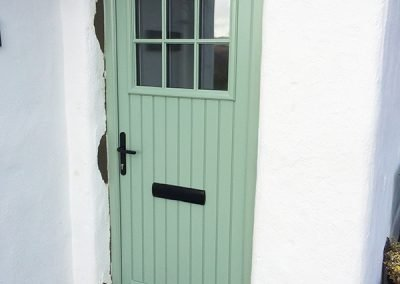 Chartwell Green Dublin Composite Door