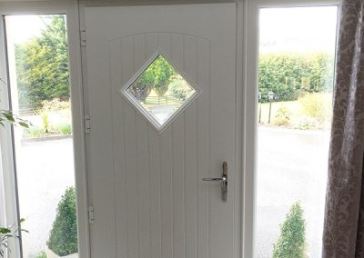 Inside View Edinburgh Composite Door