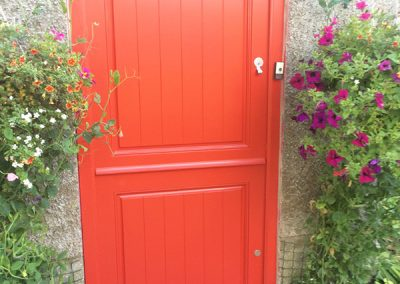 Red Timber Stable Door