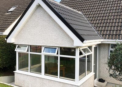 Tiled Roof Conservatory Extention