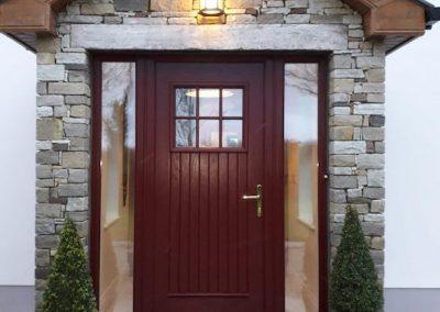 Burgundy-Dublin-Door
